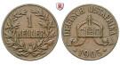 Nebengebiete, Deutsch-Ostafrika, 1 Heller 1905, A, ss, J. 716