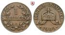 Nebengebiete, Deutsch-Ostafrika, 1 Heller 1905, J, ss, J. 716