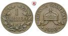 Nebengebiete, Deutsch-Ostafrika, 1 Heller 1910, J, ss, J. 716