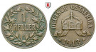 Nebengebiete, Deutsch-Ostafrika, 1 Heller 1913, J, ss, J. 716