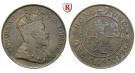 Hong Kong, Edward VII., Cent 1904, ss+