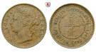 Straits Settlements, Victoria, 1/4 Cent 1899, f.vz