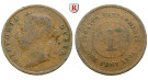Straits Settlements, Victoria, Cent 1901, f.ss