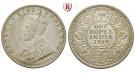 Indien, Britisch-Indien, George V., Rupee 1919, vz/vz-st