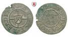 Werden und Helmstedt, Abtei, Heinrich IV. Dücker, 5 Heller 1659, ss