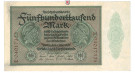 Inflation 1919-1924, 500000 Mark 01.05.1923, III, Rb. 87b