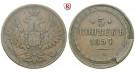 Russland, Alexander II., 5 Kopeken 1857, ss