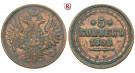 Russland, Alexander II., 5 Kopeken 1858, ss+