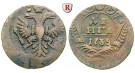 Russland, Anna, Denga 1735, ss+