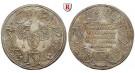 Nürnberg, Stadt, Silbermedaille o.J. (1730), vz-st
