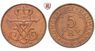 Dänemark, Christian IX., 5 Öre 1907, vz-st