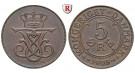 Dänemark, Christian IX., 5 Öre 1908, vz