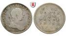 Irland, George III., 10 Pence 1805, f.ss