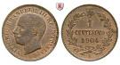 Italien, Königreich, Umberto I., Centesimo 1904, st