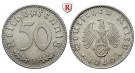 Drittes Reich, 50 Reichspfennig 1940, B, vz, J. 372