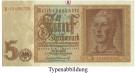 Deutsche Reichsbank 1924-1945, 5 Reichsmark 01.08.1942, I, Rb. 179a