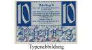 Kleingeldscheine der Landesregierungen, 10 Pfennig 10.1947, I, Rb. 215b