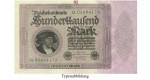 Inflation 1919-1924, 100000 Mark 01.02.1923, II, Rb. 82d