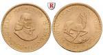 Südafrika, Republik, 2 Rand 1961-1983, 7,32 g fein, vz-st