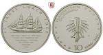 Bundesrepublik Deutschland, 10 Euro 2008, Gorch Fock, J, PP, J. 537