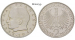 Bundesrepublik Deutschland, 2 DM 1965, Planck, D, st, J. 392
