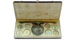 Italien, Mailand, Münzwaage um 1800, f.vz