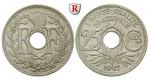 Frankreich, III. Republik, 25 Centimes 1917, f.st