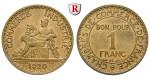 Frankreich, III. Republik, Franc 1920, vz-st