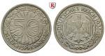 Weimarer Republik, 50 Reichspfennig 1935, G, ss-vz, J. 324