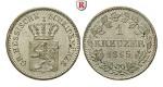 Hessen, Hessen-Darmstadt, Ludwig III., Kreuzer 1865, vz-st