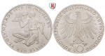 Bundesrepublik Deutschland, 10 DM 1972, Sportler, Serie von 4 Münzen, DFGJ, PP, J. 403