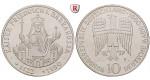 Bundesrepublik Deutschland, 10 DM 1990, Friedrich Barbarossa, F, bfr., J. 449