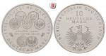Bundesrepublik Deutschland, 10 DM 1998, 50 Jahre Deutsche Mark, F, bfr., J. 469