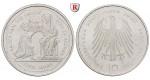 Bundesrepublik Deutschland, 10 DM 2000, Dom zu Aachen/Karl d. Große, ADFGJ komplett, PP, J. 475