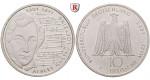 Bundesrepublik Deutschland, 10 DM 2001, Albert Lortzing, J, bfr., J. 478