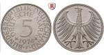 Bundesrepublik Deutschland, 5 DM 1969, Adler, D, vz-st, J. 387