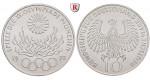 Bundesrepublik Deutschland, 10 DM 1972, Feuer, J, vz-st, J. 405