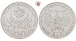 Bundesrepublik Deutschland, 10 DM 1972, Feuer, J, PP, J. 405