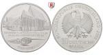 Bundesrepublik Deutschland, 10 DM 2001, Katharinenkloster Stralsund, ADFGJ komplett, PP, J. 479