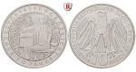 Bundesrepublik Deutschland, 10 DM 2001, Bundesverfassungsgericht, ADFGJ komplett, PP, J. 480