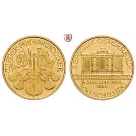 Österreich, 2. Republik, 200 Schilling 1991-2001, 3,11 g fein, st