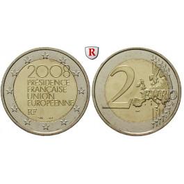 Frankreich, V. Republik, 2 Euro 2008, bfr.