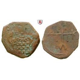 Byzanz, Manuel I. Comnenus, 1/2 Tetarteron 1143-1180, s-ss