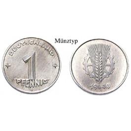 DDR, 1 Pfennig 1950, E, vz, J. 1501