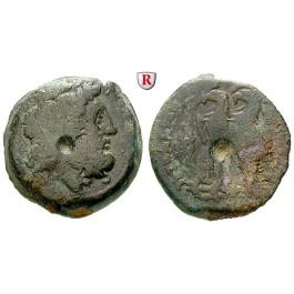 Ägypten, Königreich der Ptolemäer, Ptolemaios VI., Bronze 180-170 v.Chr., ge-s