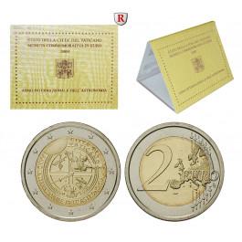 Vatikan, Benedikt XVI., 2 Euro 2009, st