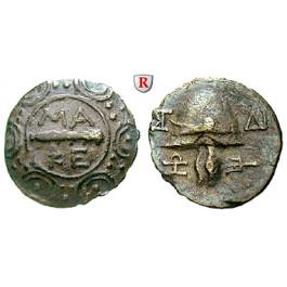 Makedonien, Königreich, Autonome Prägung z. Z. Philipp V. u. Perseus, Tetrobol 185-168 v.Chr., ss
