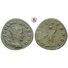 Römische Kaiserzeit, Claudius II. Gothicus, Antoninian 268-270, ss+/ss
