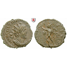 Römische Kaiserzeit, Victorinus, Antoninian 269-271, ss