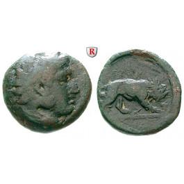 Makedonien, Königreich, Perdikkas III., Bronze, ss